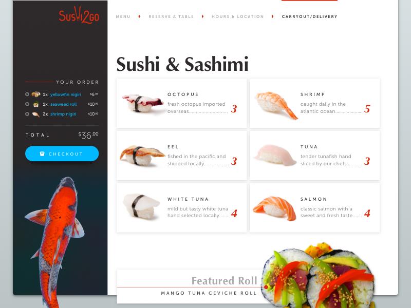 S2g menupage