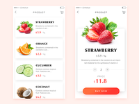 Daily ui100 - 002 fruit