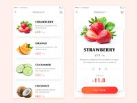 Daily ui100 - 002 fruit