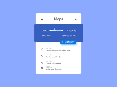 Daily UI Day 29 - Map map 029 day29 ux ui dailyui