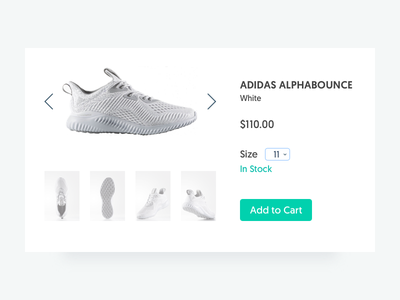Daily UI Day 96 - Currently In Stock in stock currently 096 day96 ui dailyui