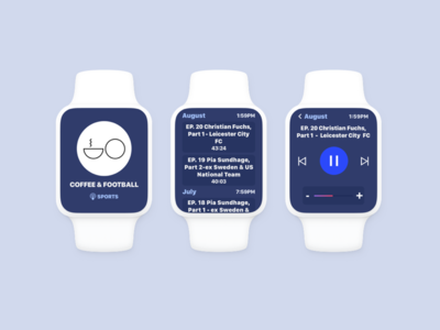 Podcast App updated apple concept app podcast watchos