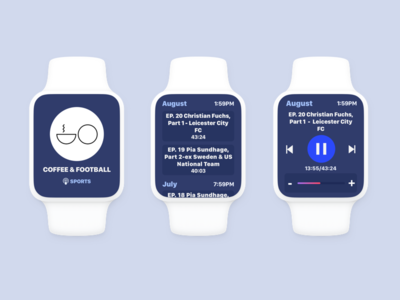 Podcast App Updated concept app podcast watchos apple