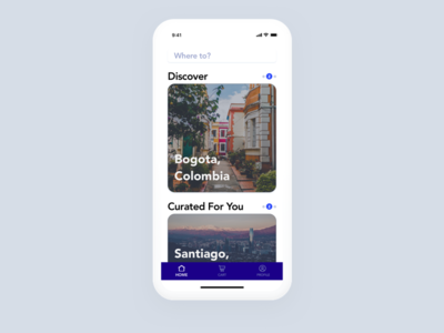 Flight Booking App - Home Page screen home x iphone app booking flight concept