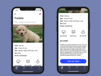 Pet Adoption App - Pet Profile