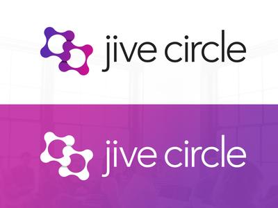 Jive Circle launch! user profile profile teammates team directory org chart jive circle jive pink logo purple logo logo