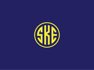 SKE Letter Logo Design branding minimalist logo logo designs company logo letters creative logo monogram logo logo mark logo maker