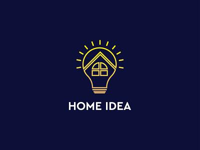 Home Idea Logo Design professional real estate brand identity brand branding business design graphic design minimal minimalist modern idea generate house maker idea maker house creative logo home idea idea logo idea logo design