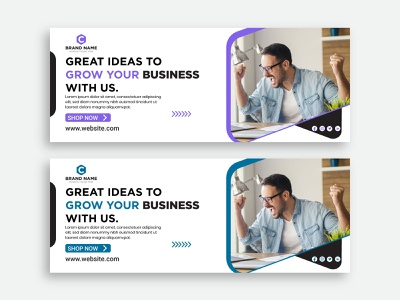 Business promotion and corporate facebook cover template social media post facebook post branding header creative agency digital marketing modern professional company office social media facebook cover template agency linkedin cover facebook cover promotion corporate business banner web banner