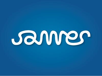 James - Ambigram logo james palindrome graphic design design typography self promotion ambigram