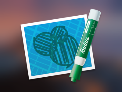 Regions Mac App Icon (Radius)