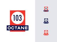 103 octane logo
