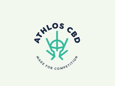 Athlos CBD logo