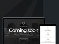 Sirius - Responsive Comming Soon Template