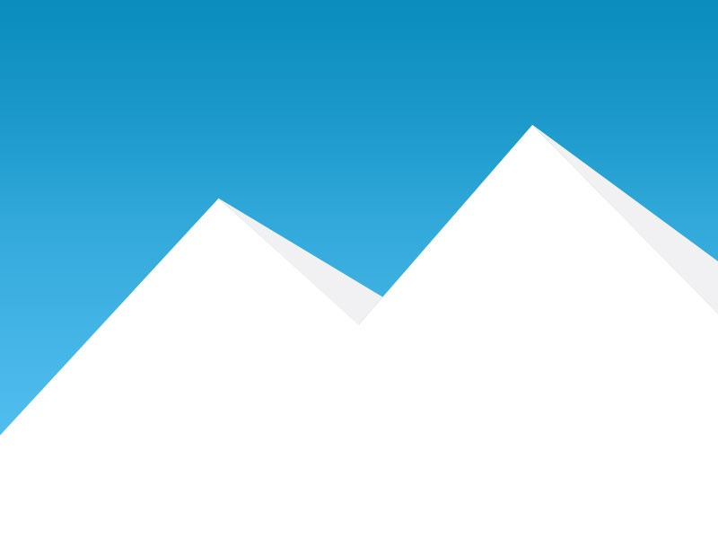 Mountains flat minimal