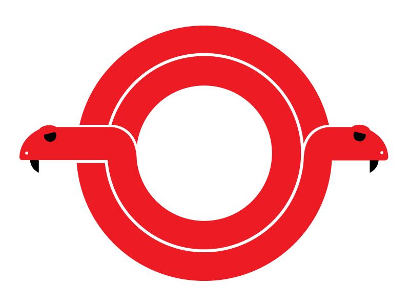 Two Headed Snake logo snake