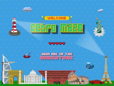 Featured Image - Retro Maze