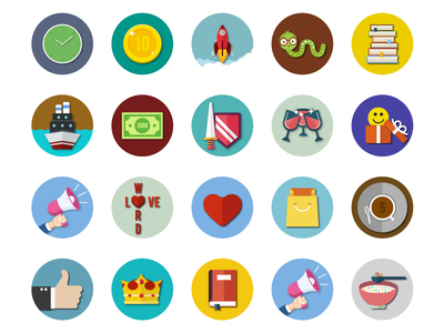 Achievement Icons - Word Search