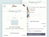 Boutique Shopify Cart