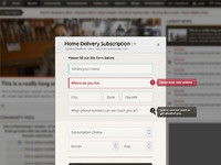 Delivery form full