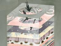 Universe space eleni debo conceptual science pattern texture editorial folioart digital illustration