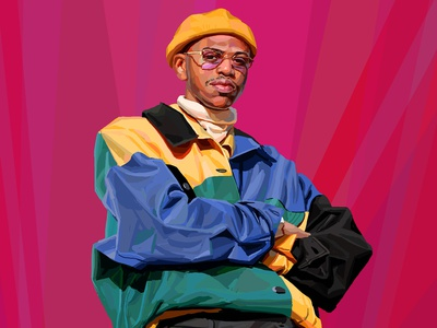 Style digital painting daniel clarke portrait fashion character folioart digital illustration
