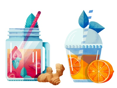 Smoothie illustration fruit huffington post delicious icons food