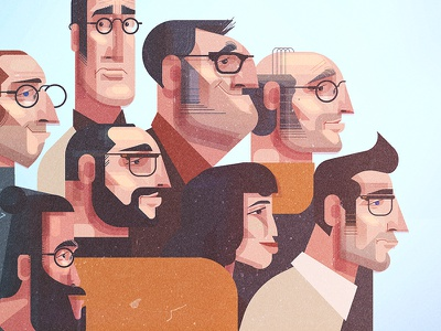 Character Designs digital texture illustration portrait characters