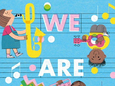 We Are Music music childrensbook