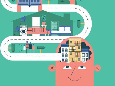 National Landlords Association illustration infographics vectorillustration