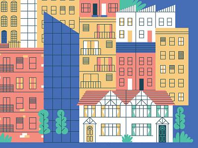 National Landlords Association 2 illustration infographics vectorillustration
