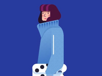 Character digital character maitefranchi folioart illustration