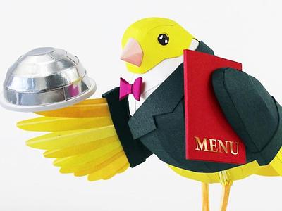 Canary food norwegian canaryfood ollanski folioart design art illustration