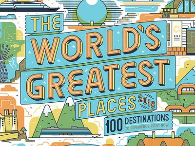 TIME Magazine Cover folioartists folioart timemagazine adventure muti studiomuti holiday leisure travel map illustratedcover