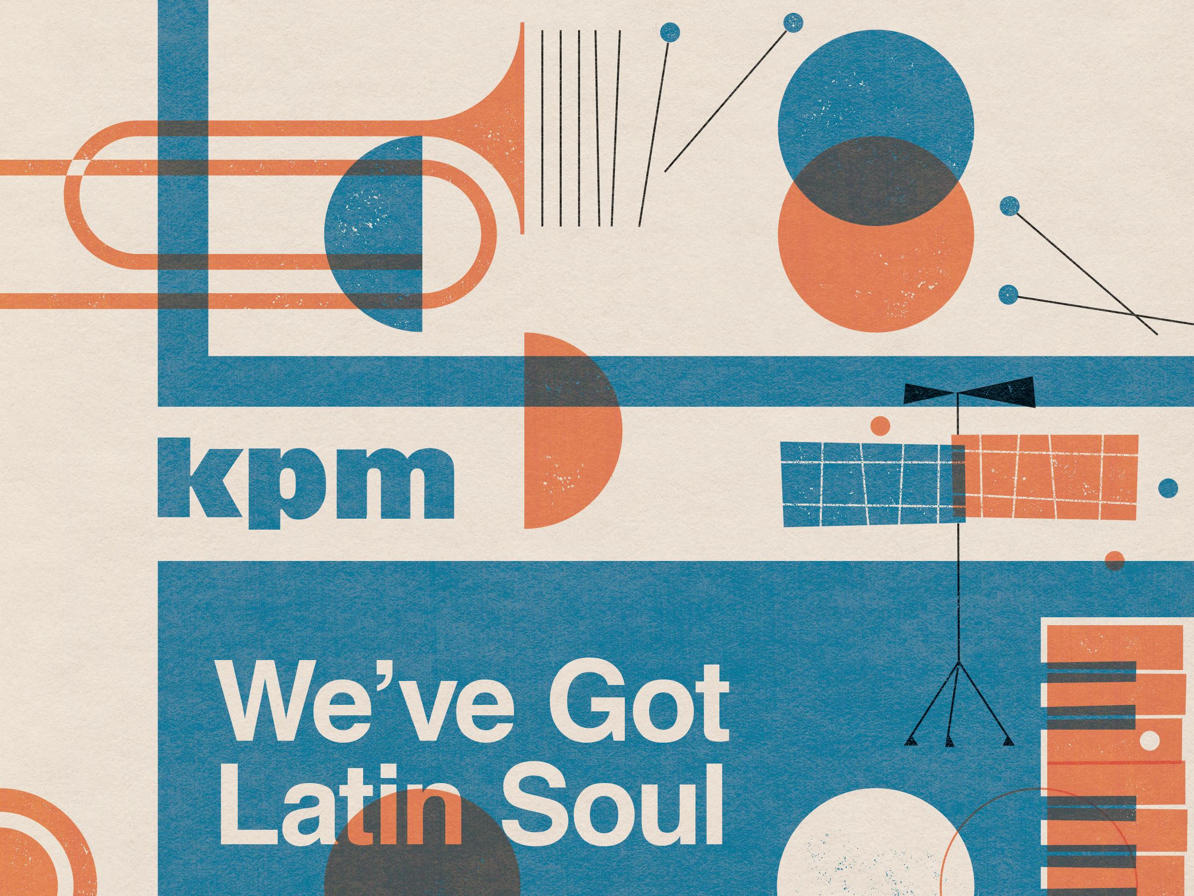 Nick radford folio illustration music album cover collage emi latin soul