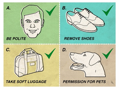 Etiquette son of alan humour infographic line character folioart digital illustration