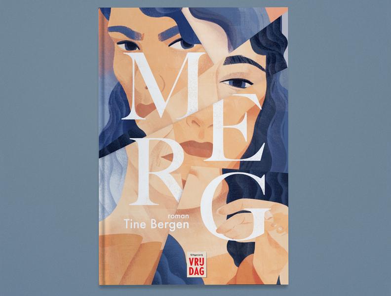 Marrow conceptual eleni debo publishing book cover portrait folioart digital illustration