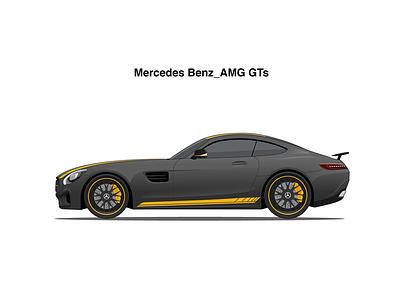 AMG GTS car