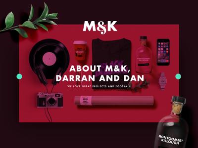 M&K About Header