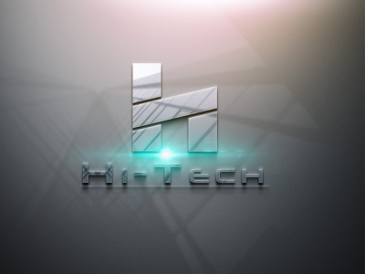 HI TECH logo designer logo for technology technology website technology logo logodesign logo