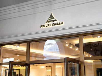 FUTURE DREAM LOGO logo for developer company real estate logo logo design logo