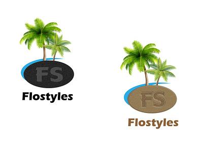 Flostyles logofolio logo mark logo for clothing brand freelancing typography illustration gradient color logo branding logodesign logo design logotype logo