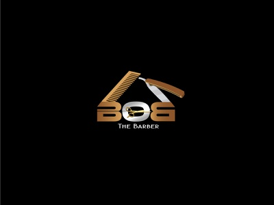 Bob Barbar icon vector gradient color logo logo illustration logo design