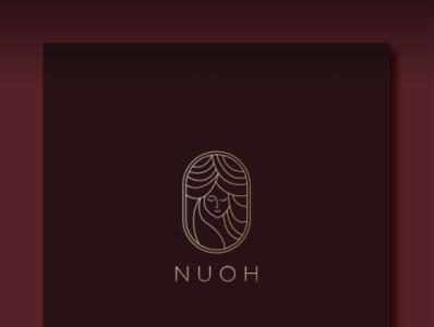 NUOH logodesign logo designer logotype freelancing branding typography gradient color logo logo illustration logo design