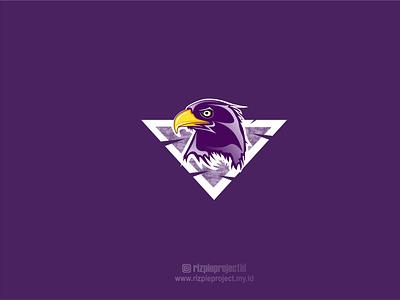 Eagle logo vector illustration promotion banner design branding logo motion graphics graphic design 3d animation ui