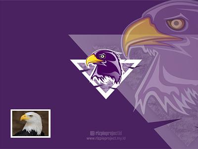 icon Eagle motion graphics 3d ui vector illustration animation promotion banner graphic design design branding logo