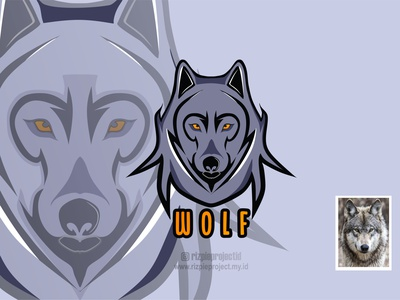 Wolf Icon vector illustration motion graphics 3d animation ui promotion banner graphic design design branding logo