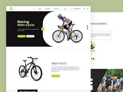 Jetcycle racing bicycle racing cycle cycle css template bootstrap html5 responsive