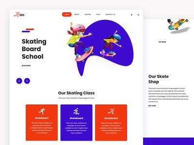 Sbs surfing board skier hiking shoes skating css template bootstrap html5 responsive