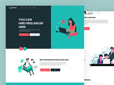 Spering creative digital agency portfolio freelancer hire css template bootstrap html5 responsive